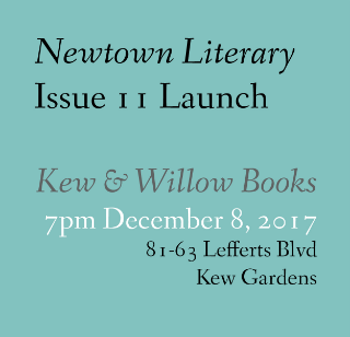 Newtown Literary Issue 11 Launch