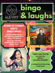 Bingo n' Laughs in Alewife @ Alewife | New York | United States