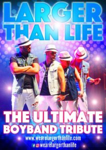 LARGER THAN LIFE: The Ultimate Boy Band Tribute Show @ Resorts World Casino | New York | United States