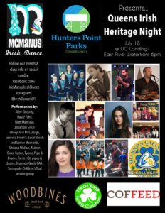 Queens Irish Heritage Night @ LIC Landing by Coffeed | New York | United States