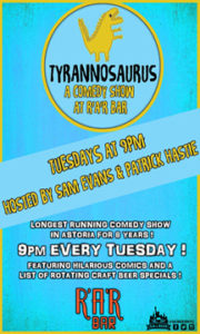 Tyrannosaurus @ RaR Bar