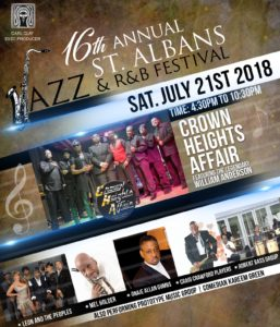 16th Annual St. Albans Jazz and R&B Festival @ St. Albans Park | New York | United States