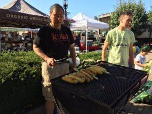 Free Community Corn Roast @ Cunningham Park Farmers Market