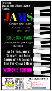 JAMS Under the Stars @ Rufus King Park