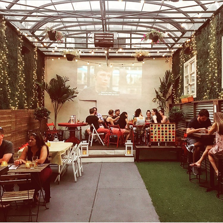 July movie nights at the Ditty