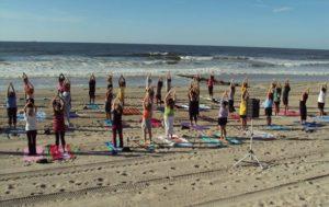 Yoga on the Beach @ Rockaway Beach and Boardwalk