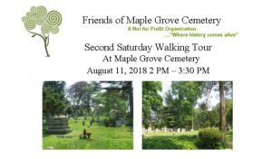 Walking Tour of Maple Grove Cemetery in Kew Gardens @ Maple Grove Cemetery