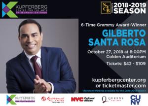 Gilberto Santa Rosa @ Kupferberg Center for the Arts- Colden Auditorium