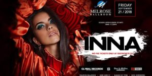 Inna Live in NYC @ Melrose Ballroom