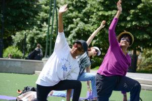 City Parks Foundation Senior Fitness Program @ Roy Wilkins Park | New York | United States