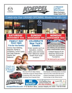 Grand Opening Weekend at Koeppel Mazda @ Koeppel Mazda | New York | United States