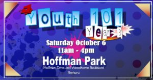 "Third Annual CB4Q ""Youth 101"" Fair @ Hoffman Park 