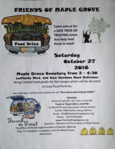 Trunk or Treat at Maple Grove in Kew Gardens @ Maple Grove Cemetery | New York | United States