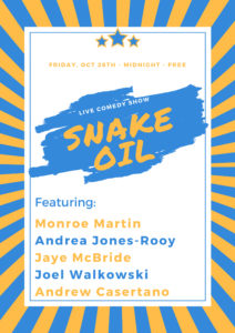 Snake Oil @ The Creek and the Cave | New York | United States