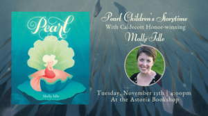 Molly Idle reads Pearl @ The Astoria Bookshop | New York | United States