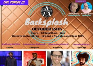 Backsplash Live Comedy & Cocktails @ The Astorian | New York | United States
