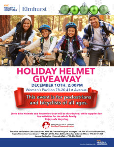 HOLIDAY HELMET GIVEAWAY @ WOMENS PAVILION | New York | United States