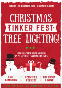 Christmas Tinker Festival & Tree Lighting @ Lewis Latimer House Museum | New York | United States