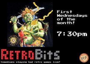 Retro Bits Video Game Comedy Show! @ Q.E.D.   New York   United States