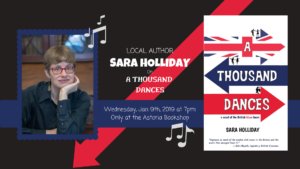 Astoria author Sara Holliday on A Thousand Dances! @ The Astoria Bookshop | New York | United States