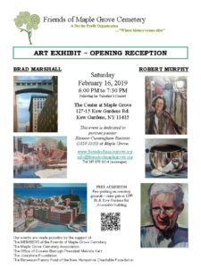 Art Exhibit Opening Reception in Kew Gardens @ The Center at Maple Grove | New York | United States