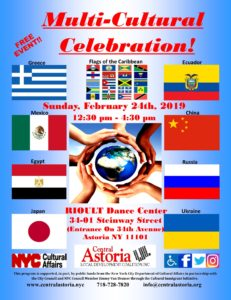 Multi-Cultural Celebration!! @ RIOULT Dance Center | New York | United States
