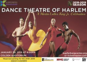 Dance Theatre of Harlem @ Colden Auditorium In Queens College | New York | United States