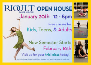 RIOULT Dance Center Open House @ RIOULT Dance Center | New York | United States