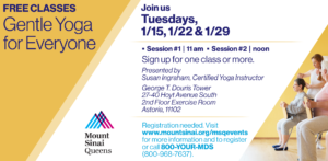 Gentle Yoga for Everyone @ George T. Douris Tower | New York | United States