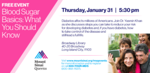 Blood Sugar Basics: What You Should Know @ Broadway Library | New York | United States