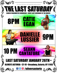 LAST SATURDAY singer/songwriter showcase at OLIVER'S @ Oliver's Astoria | New York | United States