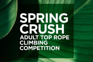 Spring Crush Competition at Brooklyn Boulders Queensbridge @ Brooklyn Boulders Queensbridge | New York | United States