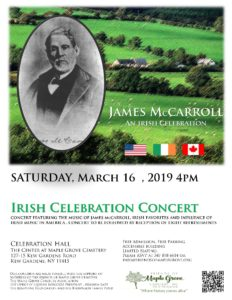 Irish Celebration Concert in Kew Gardens @ The Center at Maple Grove Cemetery | New York | United States