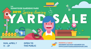 Sunnyside Gardens Park Yard Sale @ Sunnyside Gardens Park   New York   United States