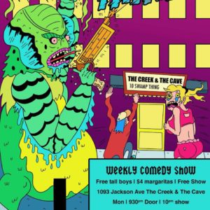 Swamp Thing @ The Creek and The Cave   New York   United States
