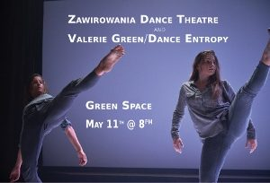 """Everything"" and ""Real Love"" with Dance Entropy and Zawirowania Dance Theatre @ Green Space 