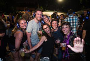 Beer Garden Silent Disco Party @ Katch Astoria   New York   United States