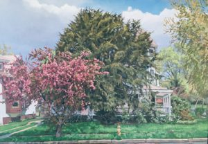 Flowering Trees in Victorian Richmond Hill: Paintings by Irene Buszko. @ Voelker Orth Museum  | New York | United States