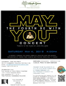 May the Fourth Be With You Concert in Kew Gardens @ The Center at Maple Grove  | New York | United States