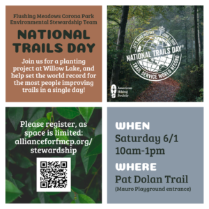 National Trails Day at FMCP @ Pat Dolan Trail (Mauro Playground Entrance) | New York | United States