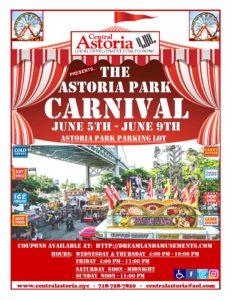 The Astoria Park Carnival! @ Astoria Park Parking Lot | New York | United States