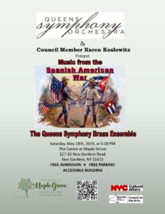 Queens Symphony Brass Ensemble in Kew Gardens @ The Center at Maple Grove    New York   United States