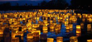 Water Lantern Festival @ Flushing Meadows Corona Park   New York   United States