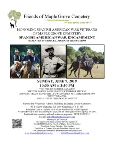 Spanish American War Encampment in Kew Gardens @ Maple Grove Cemetery | New York | United States