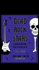 Dead Rock Stars - a Storytelling Show @ QED Astoria | New York | United States