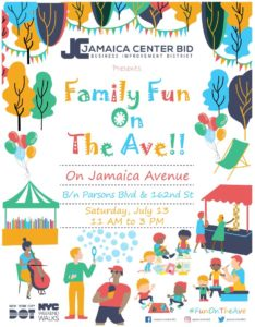 Family Fun On The Ave @ Jamaica Avenue between Parsons Blvd and 162nd Street | New York | New York | United States