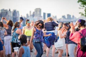 Summer Sunset Family Silent Disco with Face Painting! @ LIC Landing