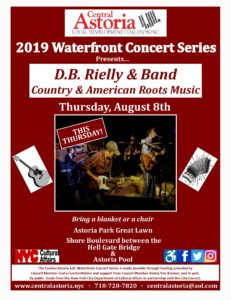 2019 Waterfront Concert Series: D.B. Rielly & Band! @ Astoria Park Great Lawn