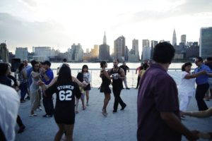 Sunset Salsa Dancing @ LIC Landing