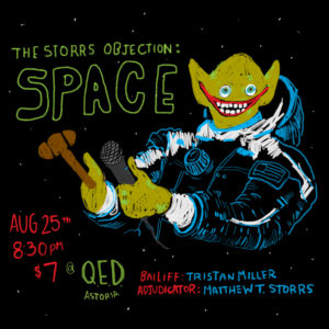 The Storrs Objection: Space @ QED | New York | United States